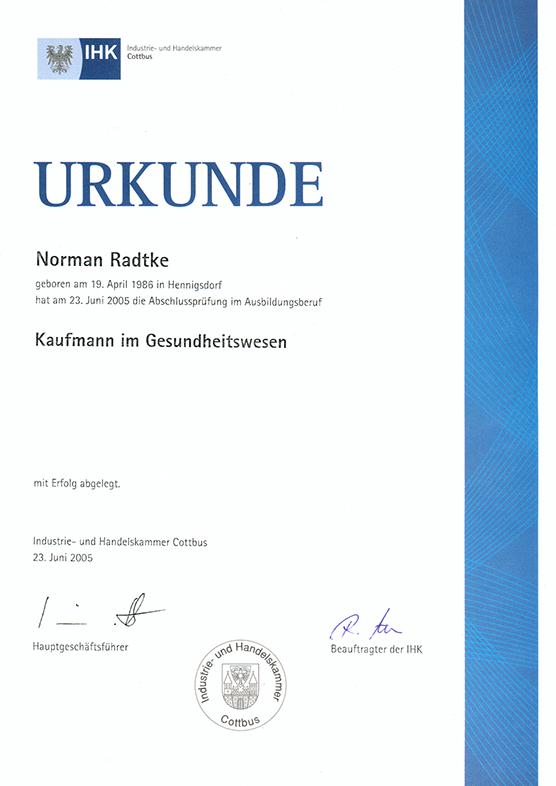 IHK - Industrie- und Handelskammer Cottbus, 2005